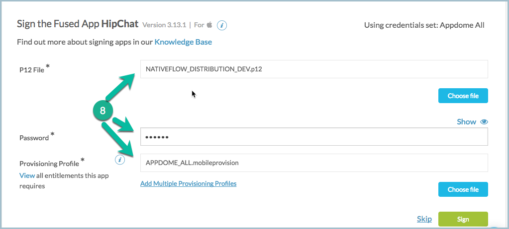 Verifying That Certificate Is Trusted By MobileIron Sentry – Appdome ...