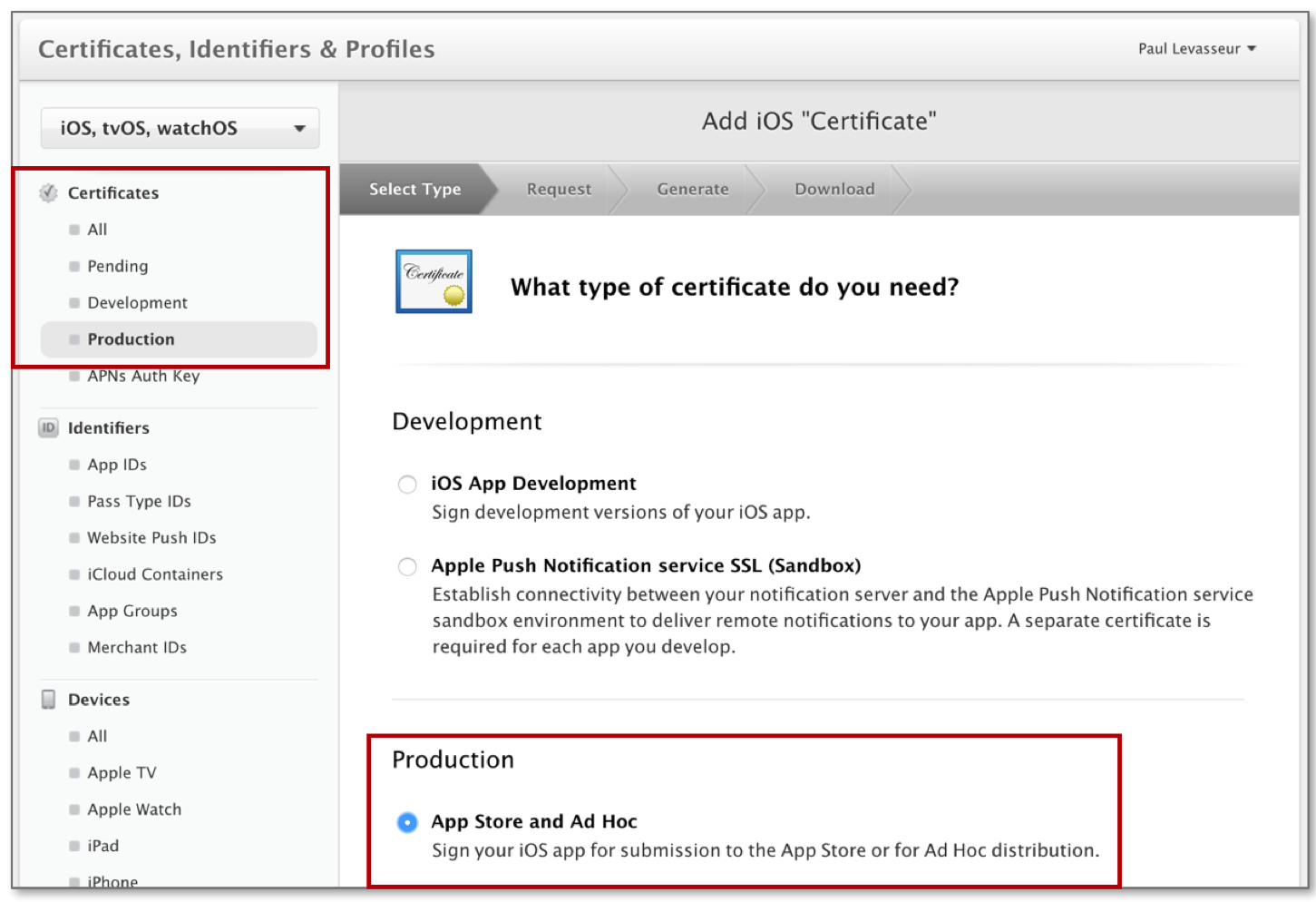 Creating An Ios Distribution Certificate And P12 File For Signing